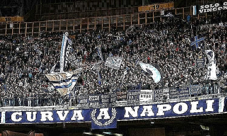 Curva A Napoli