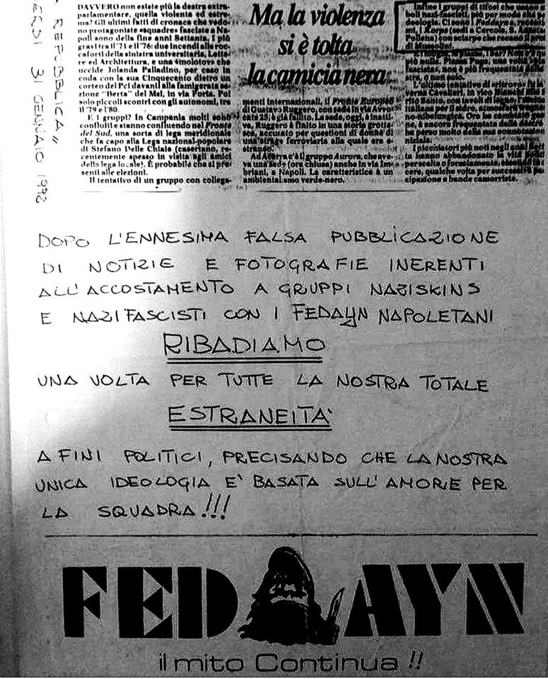 No politics_Fedayn_Volantino